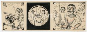 1940ca DRUMPIE'S DOLLE ADVENTUREN Colonial comic strip 40 - A. REUVERS *RARE