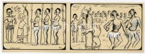 1940ca DRUMPIE'S DOLLE ADVENTUREN Colonial comic strip 41 - A. REUVERS *RARE