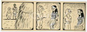 1940ca DRUMPIE'S DOLLE ADVENTUREN Colonial comic strip 46 - A. REUVERS *RARE