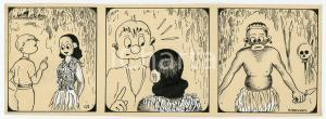 1940ca DRUMPIE'S DOLLE ADVENTUREN Colonial comic strip 47 - A. REUVERS *RARE