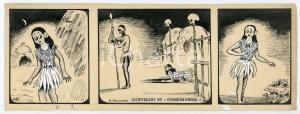 1940ca DRUMPIE'S DOLLE ADVENTUREN Colonial comic strip 48 - A. REUVERS *RARE