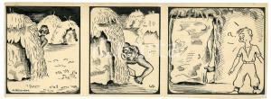 1940ca DRUMPIE'S DOLLE ADVENTUREN Colonial comic strip 49 - A. REUVERS *RARE