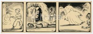1940ca DRUMPIE'S DOLLE ADVENTUREN Colonial comic strip 50 - A. REUVERS *RARE