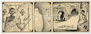 1940ca DRUMPIE'S DOLLE ADVENTUREN Colonial comic strip 52 - A. REUVERS *RARE
