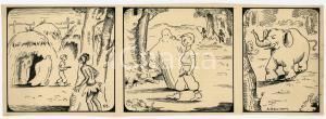 1940ca DRUMPIE'S DOLLE ADVENTUREN Colonial comic strip 53 - A. REUVERS *RARE