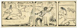 1940ca DRUMPIE'S DOLLE ADVENTUREN Colonial comic strip 58 - A. REUVERS *RARE