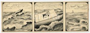 1940ca DRUMPIE'S DOLLE ADVENTUREN Colonial comic strip 61 - A. REUVERS *RARE