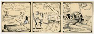 1940ca DRUMPIE'S DOLLE ADVENTUREN Colonial comic strip 62 - A. REUVERS *RARE