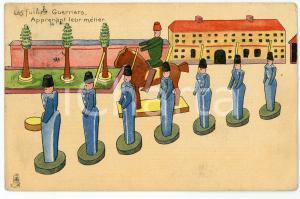 1907 JOUETS Les futurs guerriers - Carte postale ILLUSTRÉE FP NV