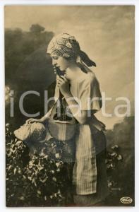 1910 ca FONOSCOPE Kennst du das Land WECO Tonbild-Postkarte - Recorded Postcard
