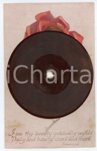 1910 ca TUCK'S Gramophone Record Postcard - Birthday wishes - FP NV