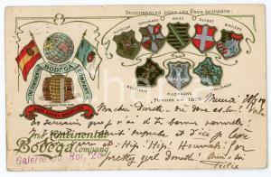 1905 BELGIQUE Continental Bodega Company - Carte postale ILLUSTRÉE FP VG