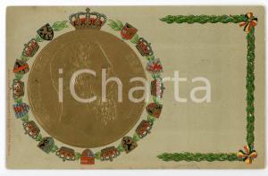1910 ca BELGIQUE Leopold II Roi des belges - Carte postale ILLUSTRÉE