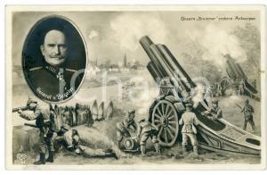 1915 ca WW1 - ANTWERPEN General Hans VON BESELER Illustrated Postcard FP NV