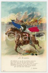 1915 ca WW1 - FRANCE Soldier on horseback -