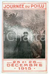 1915 WW1 - FRANCE Journeée du Poilu - ILLUSTRATED postcard FP NV
