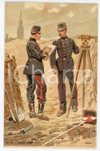 1900 ca BELGIQUE Artist Louis GEENS Armée Belge - Génie - Carte postale FP NV