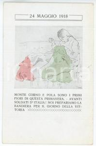 1918 WW1 - BOLOGNA Alleanza Femminile - POLA E MONTE CORNO - Cartolina