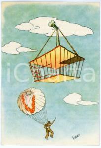 1942 MAK P 100 Regia Accademia Aeronautica - Corso Vulcano - Cartolina FG