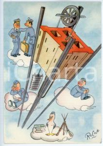 1942 MAK P 100 Regia Accademia Aeronautica - Corso Vulcano - Cartolina FG NV