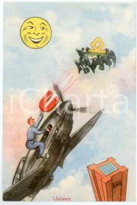 1942 MAK P 100 Regia Accademia Aeronautica XV Corso integrazione - Cartolina FG