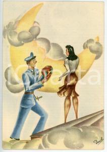 1941 MAK P 100 Regia Accademia Aeronautica - Corso URANO Cartolina FG NV