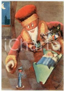 1941 MAK P 100 Regia Accademia Aeronautica - Corso URANO Babbo Natale *Cartolina
