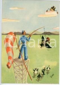 1941 MAK P 100 Regia Accademia Aeronautica - Corso URANO Ill. di SICAR Cartolina