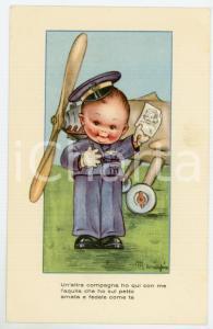 1942 REGIA AERONAUTICA Un'altra compagna ho qui con me - Ill. MARIAPIA Cartolina