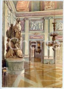 1942 CASERTA R. Accademia Aeronautica - Anticamera del Palazzo Reale - Cartolina