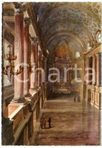 1942 CASERTA Regia Accademia Aeronautica - Cappella Reale - Cartolina FG NV