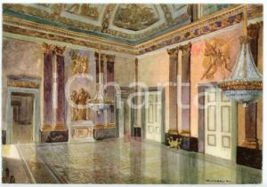 1942 CASERTA Regia Accademia Aeronautica - Sala di Palazzo Reale - Cartolina FG