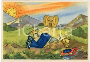 1942 MAK P 100 Regia Accademia Aeronautica XIV Corso Integrazione - Cartolina FG