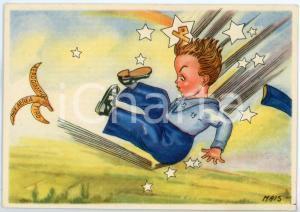 1942 MAK P 100 R. Accademia Aeronautica XIV Corso Integrazione - Cartolina FG NV