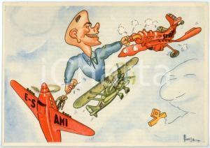 1942 MAK P 100 R. Accademia Aeronautica XIV Corso Integrazione *Cartolina FG NV