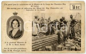 1920 ca LOWA CONGO Mission des Chanoines Rég. de Latran - Reine Astrid *Postcard