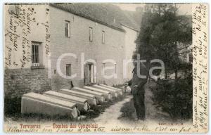 1904 TERVUREN Tombes des congolais - Carte postale FP VG