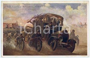 1910 ca REGIO ESERCITO - FIRENZE Centro Automobilistico - Cartolina FP NV