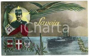 1915 ca REGIA MARINA Vittorio Emanuele III di Savoia - Sommergibile - Cartolina