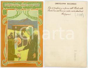 1899 BOLOGNA Festa pro asilo Piccole Suore dei Poveri - Cartolina ill. BARUFFI