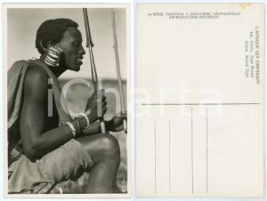 1930 C. ZAGOURSKI «L'Afrique qui disparaît» KENIA Type MASSAI - Earlobe with can