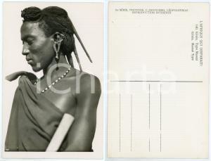 1930 ca C. ZAGOURSKI «L'Afrique qui disparaît» KENIA Type MASSAI *Postcard 140