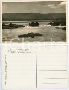 1930 C. ZAGOURSKI «L'Afrique qui disparaît» OUGANDA La source du Nil *Postcard
