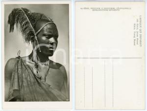 1930 ca C. ZAGOURSKI «L'Afrique qui disparaît» KENIA Type MASSAI *Postcard 149