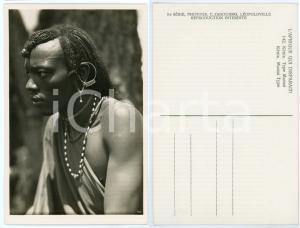 1930 ca C. ZAGOURSKI «L'Afrique qui disparaît» KENIA Type MASSAI *Postcard 142