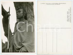 1930 ca C. ZAGOURSKI «L'Afrique qui disparaît» KENIA Type MASSAI *Postcard 146