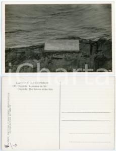 1930 C. ZAGOURSKI «L'Afrique qui disparaît» OUGANDA Source du Nil *Postcard 136
