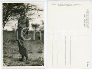 1930 ca C. ZAGOURSKI «L'Afrique qui disparaît» KENIA Type MASSAI *Postcard 145