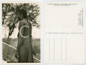 1930 ca C. ZAGOURSKI «L'Afrique qui disparaît» KENIA Type MASSAI *Postcard 144