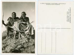 1930 ca C. ZAGOURSKI «L'Afrique qui disparaît» KENIA Type MASSAI *Postcard 147